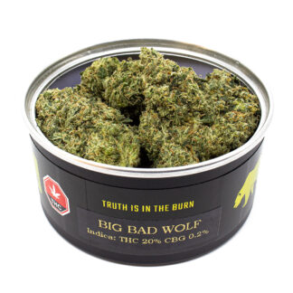 Official Skookum Big Bad Wolf Canned Craft Cannabis